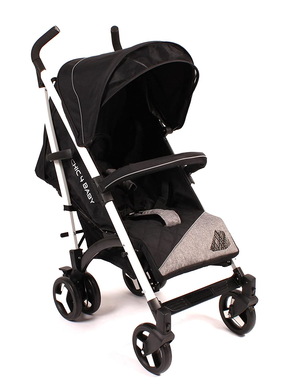 CHIC 4Baby 30840niños de Buggy Luca con capota extra, Negro Chic 4 Baby GmbH (FO) 308 40
