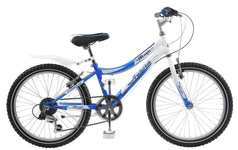 Frank Bikes 20 Zoll Jugend Fahrrad Rad Bike Mountainbike Kinderfahrrad Mädchenfahrrad 6 Gang Aurora BLAU