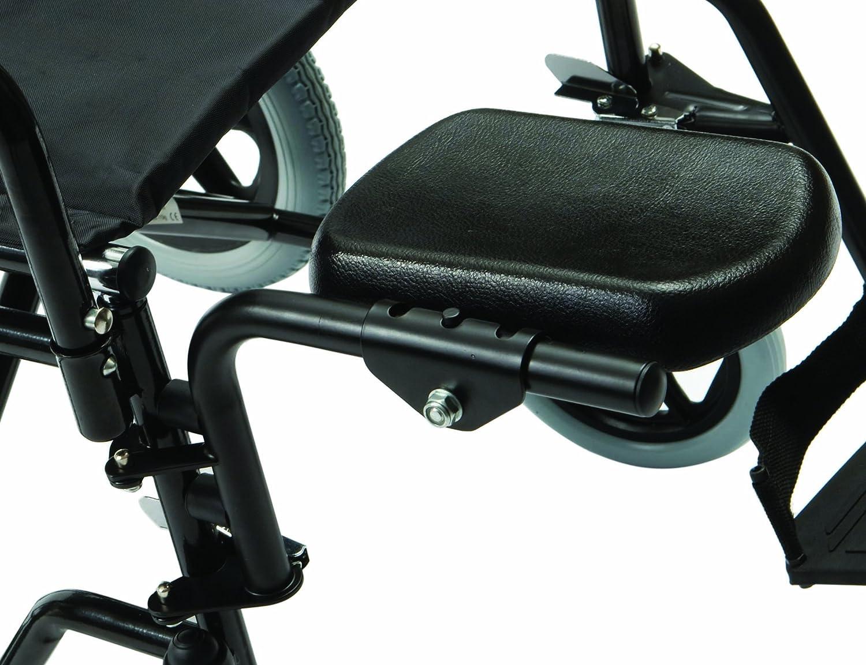 Drive Medical Z10950-01 - Soporte para pierna amputada (accesorio de silla de ruedas, lado derecho)