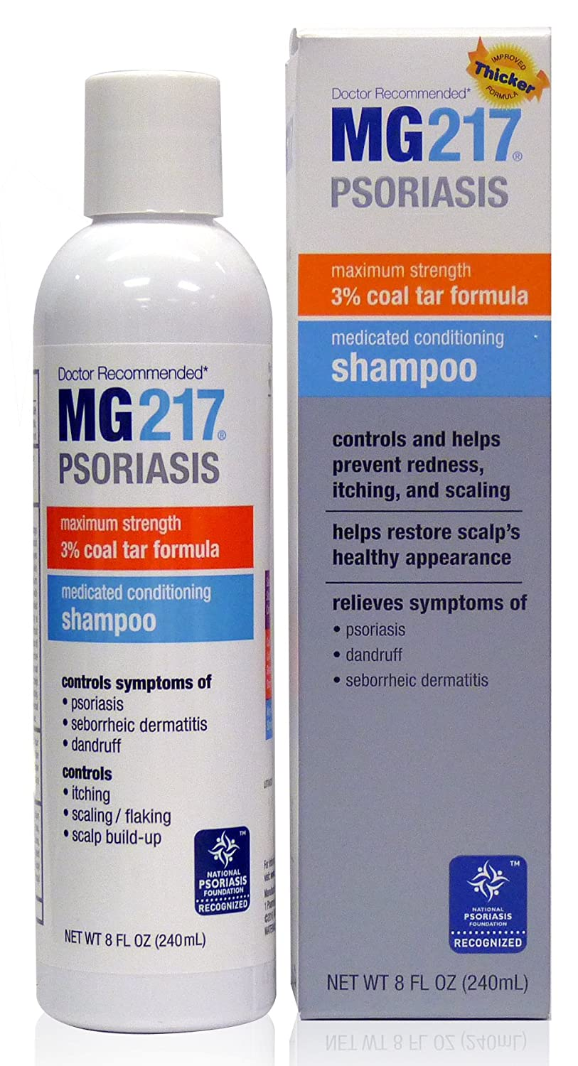 845a642bb468 Amazon.com  MG217 Psoriasis Medicated Conditioning 3% Coal Tar Formula  Shampoo