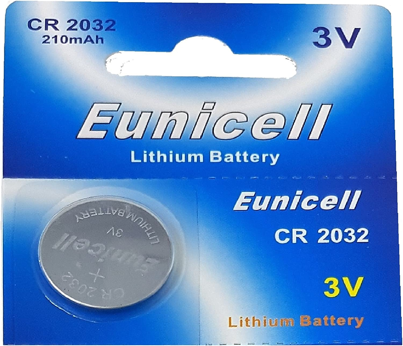 Eunicell 1000 X Cr2032 3v Lithium Knopfzelle 210 Mah Elektronik