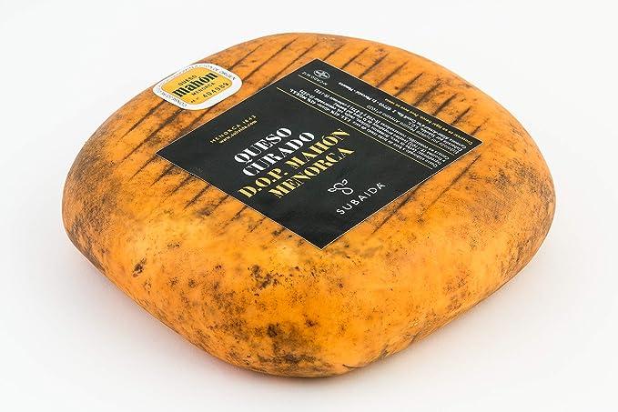 QUESO CURADO ARTESANO D.O.P.MAHÓN-MENORCA: Amazon.es: Alimentación y ...