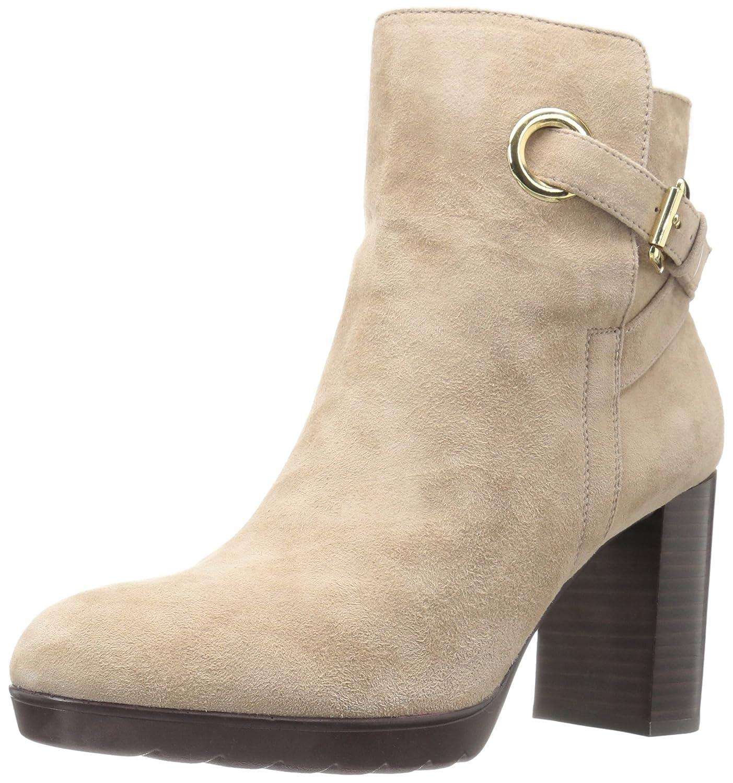 Bella Vita Women's Zelda Ankle Bootie B01ED0A91C 5 B(M) US|Almond Kid Suede