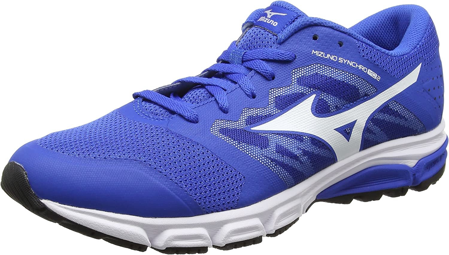 Mizuno Synchro MD 2, Zapatillas de Running para Hombre, Azul (Strong Blue/White/Black), 40.5 EU: Amazon.es: Zapatos y complementos
