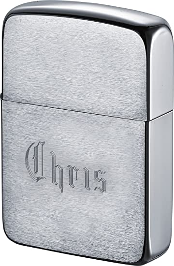 Personalized 1941 Zippo Lighter With Free Engraving Old English Font