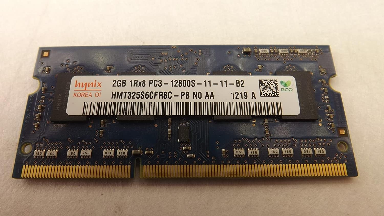 SK Hnix 2GB 1Rx8 PC3-12800S-12800-11-12-B4 HMT325S6CFR8C-PB NA AA 29B