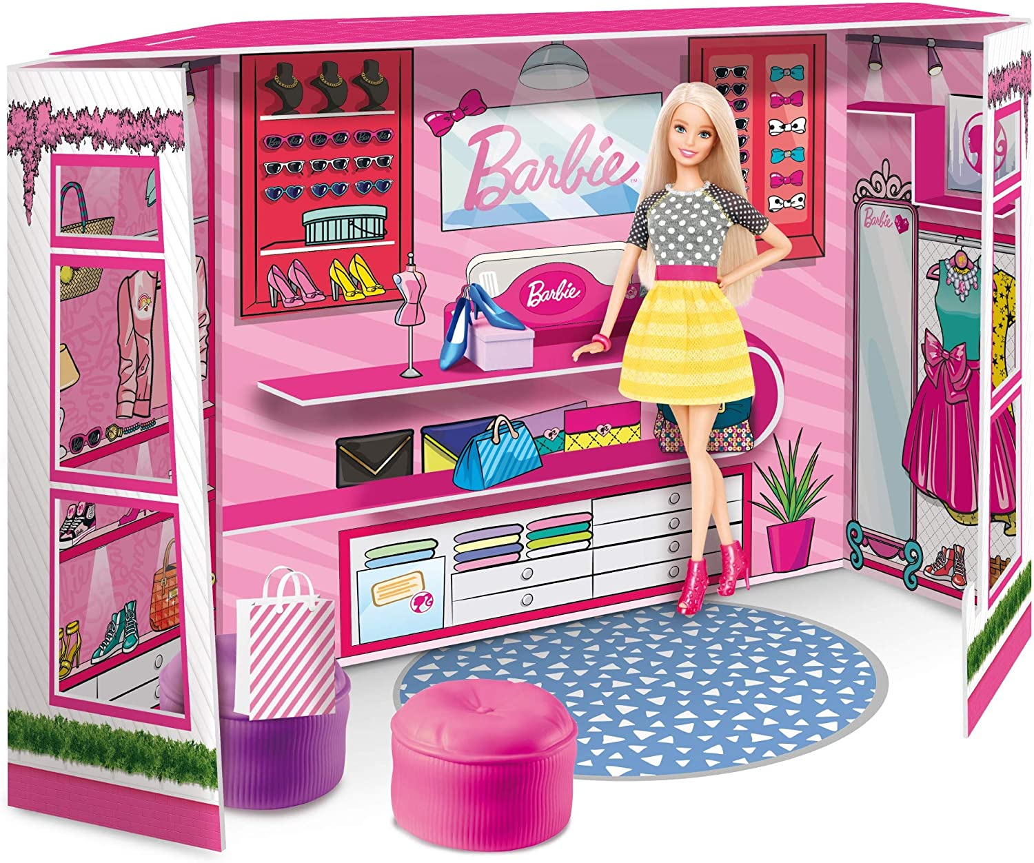 Poupée Barbie boutique fashion en promotion
