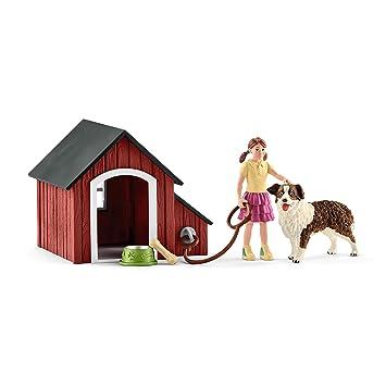 Schleich-42376 Caseta de Perro, Multicolor (42376): Amazon.es: Juguetes y juegos