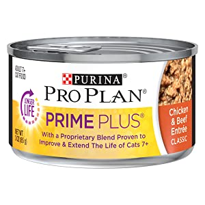 Purina Pro Plan Prime Plus Senior Canned Cat Food