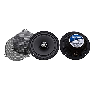 "Hogtunes Gen 4 6.5"" Front Speakers: Home Audio & Theater"