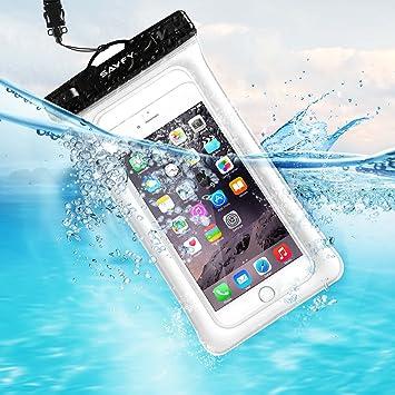 Pochette Étanche Smartphone 7'' Certifiée IPX8, SAVFY Housse ...