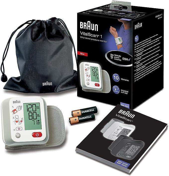 Braun BBP2000WE VitalScan 1 - Monitor de tensión arterial: Amazon.es: Salud y cuidado personal
