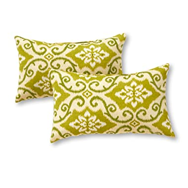 Greendale Home Fashions Rectangle Outdoor Accent Pillow (set of 2), Shoreham