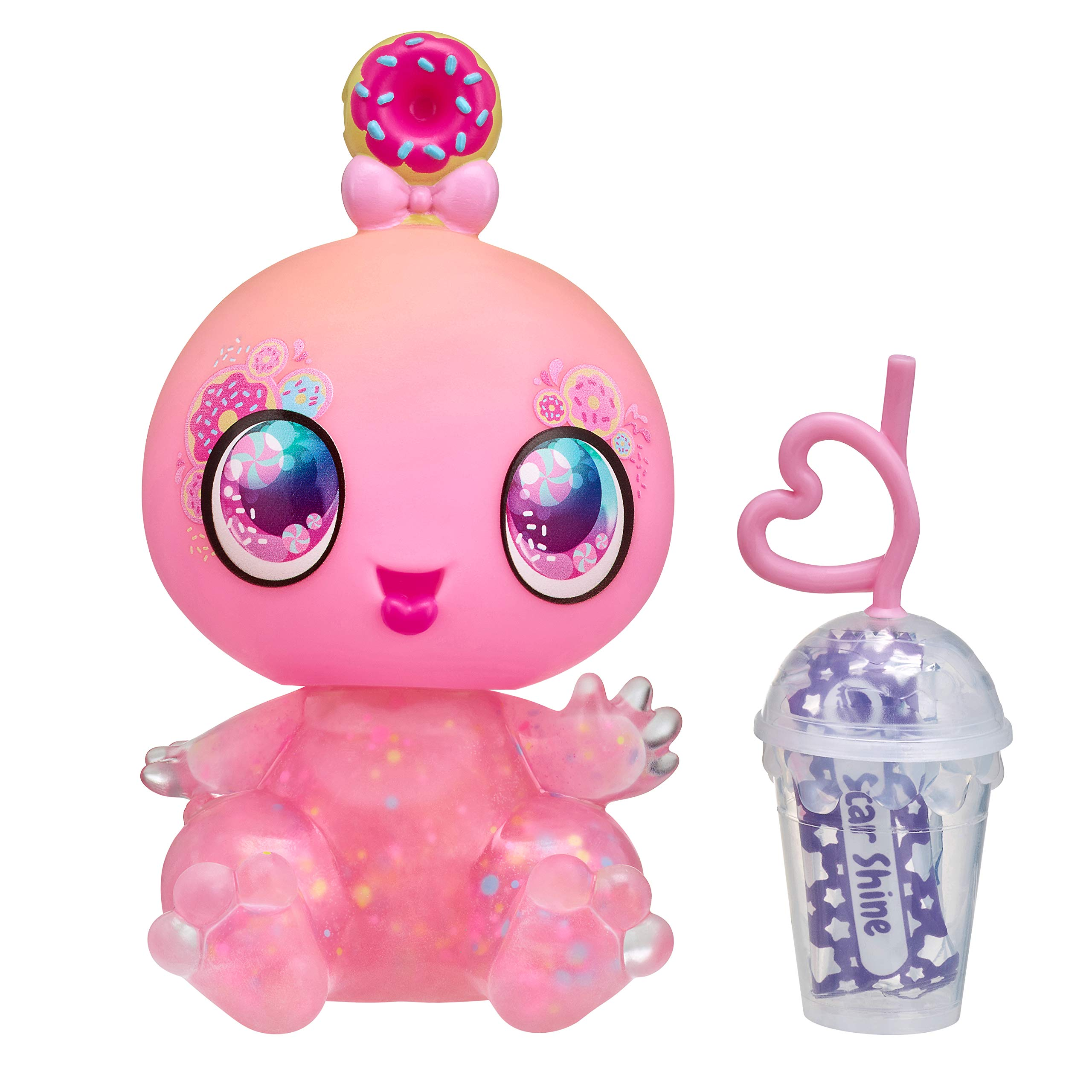 """Goo Goo Galaxy 5"""" Doll, Astra Nommy with Squeezer Belly & DIY Slime Activity"""