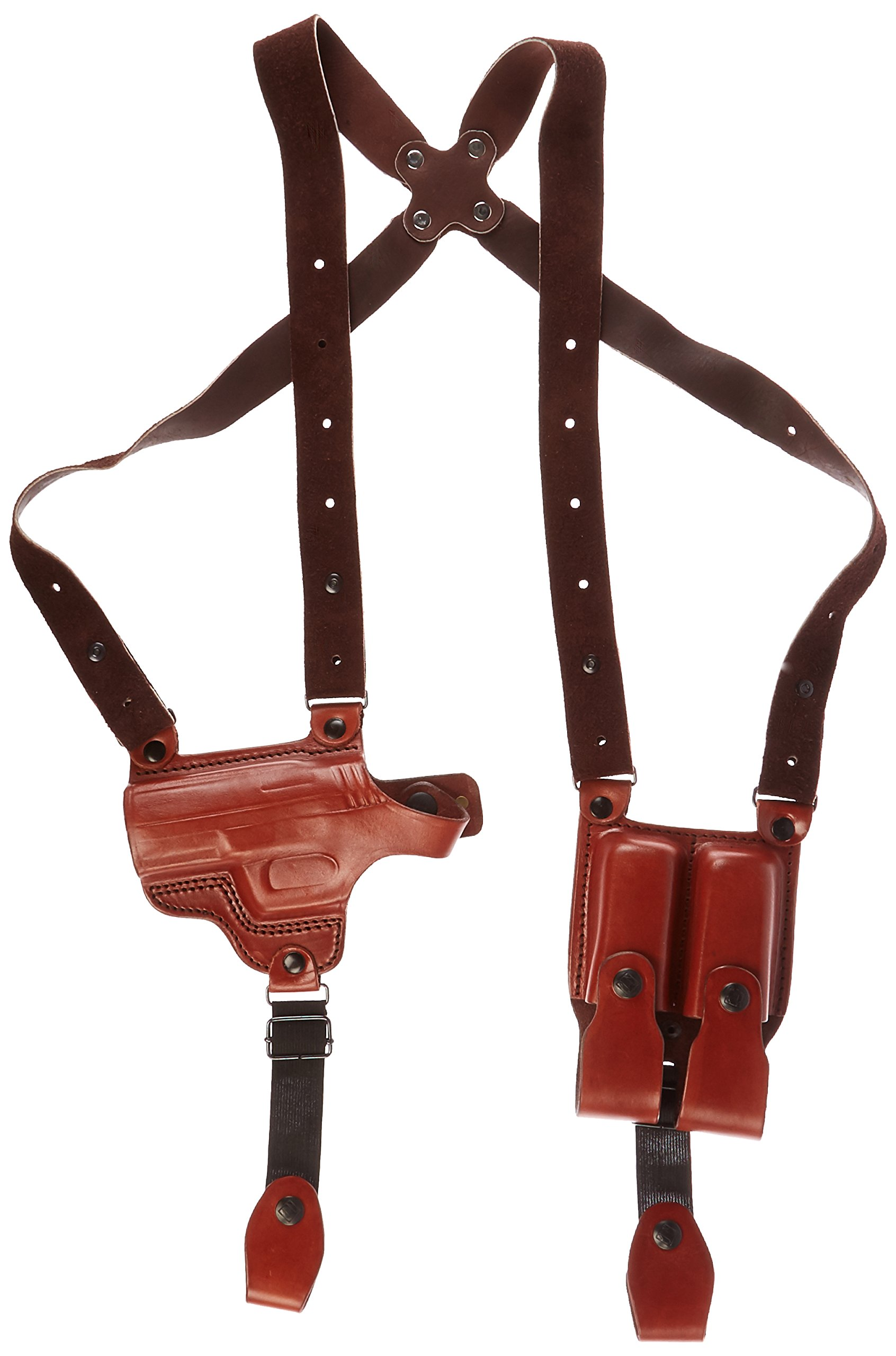 Tagua SH4-1108 Full Slide Shoulder Holster, Walther P99, Brown, Left Hand