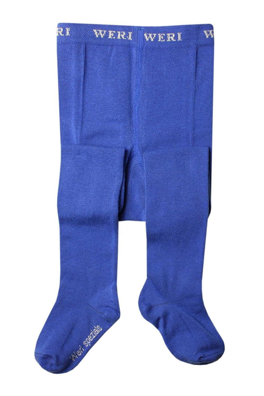 Weri Spezials Baby and Children Smooth Tights Blue