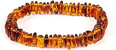 Bracelet from natural Baltic amber. Bracelet made of natural Baltic amber