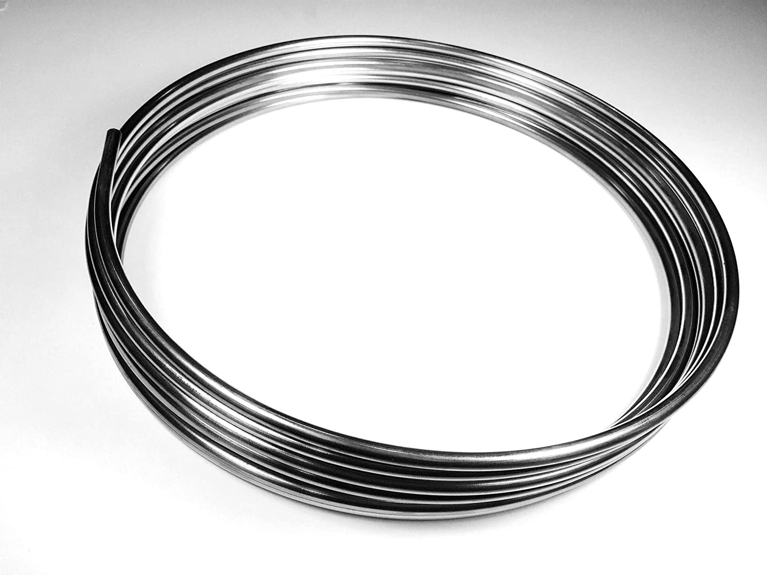 """Made in USA Stainless Brake Line Tube Coil Roll 1//4/"""" 16 ft"""