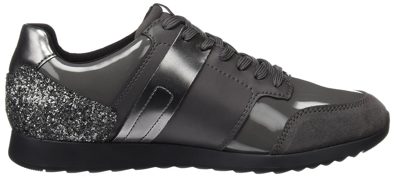 Geox Damen D Deynna D 41 Sneaker Grau (Dk Grey) 41 D EU b5c3b4