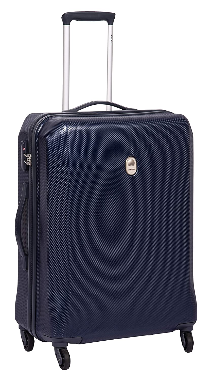 Delsey Misam ABS 66 Cm 4 Wheels Blue Medium Hard Suitcase