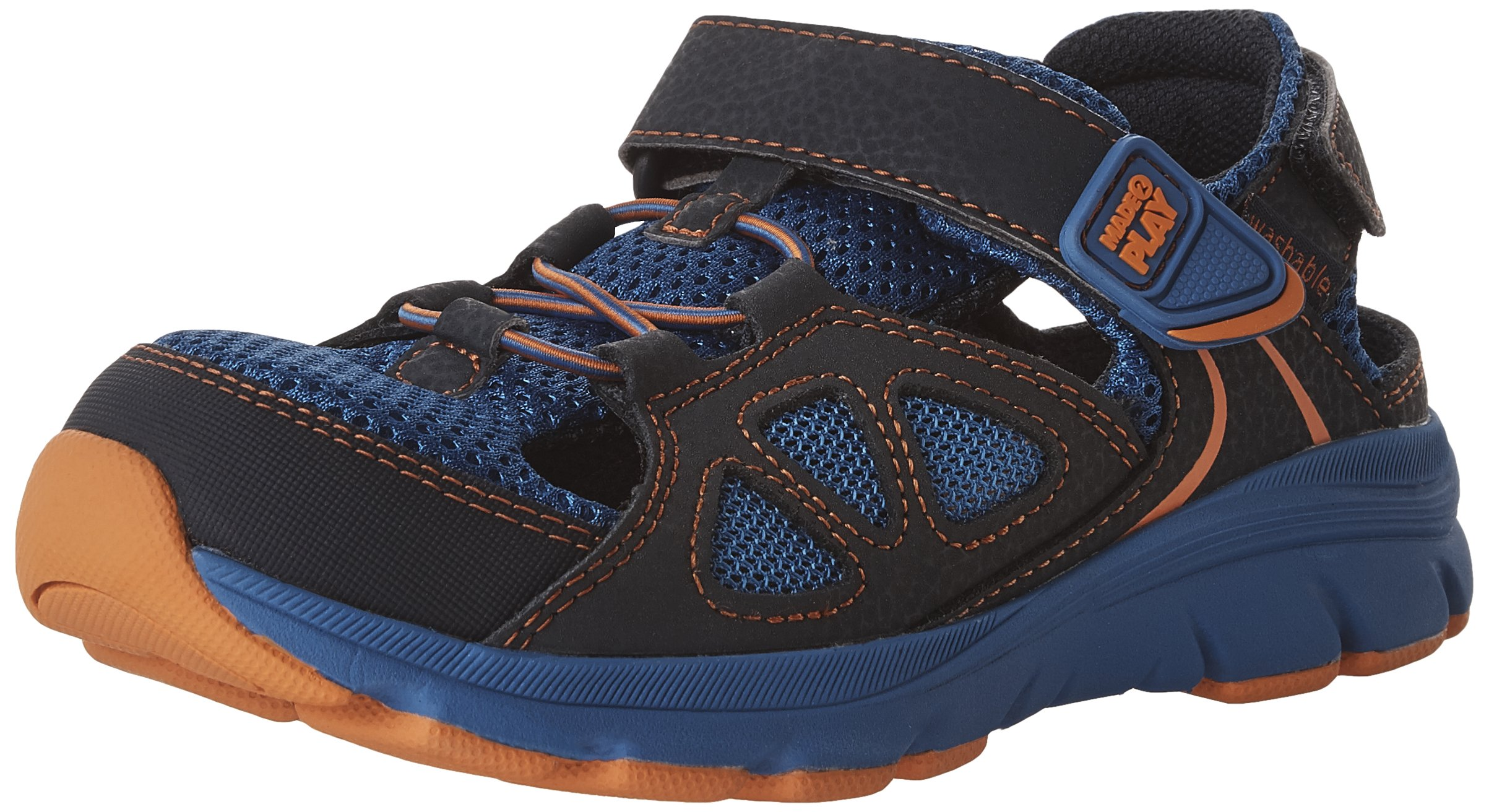 Stride Rite Made 2 Play Scout Water Shoe, Navy Royal, 10.5 M US Little Kid