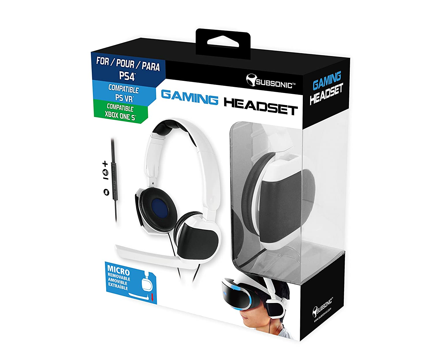 Subsonic - Auriculares Gaming