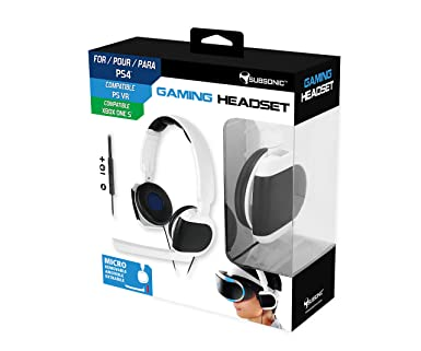 "Subsonic - Auriculares Gaming ""Game & Chat"" (PS VR ..."