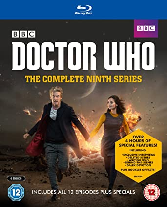 Doctor Who - Series 9 Complete Reino Unido Blu-ray: Amazon.es ...