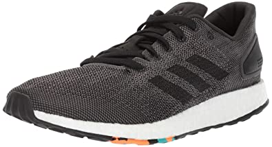 ffcb334cac36d adidas Men s Pureboost DPR Running Shoe Black Grey