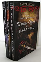 Dark Lords of Epthelion Trilogy:Warrior Queen of Ha-Ran-Fel, A Dark Moon Rises, Castle of Blood Kindle Edition