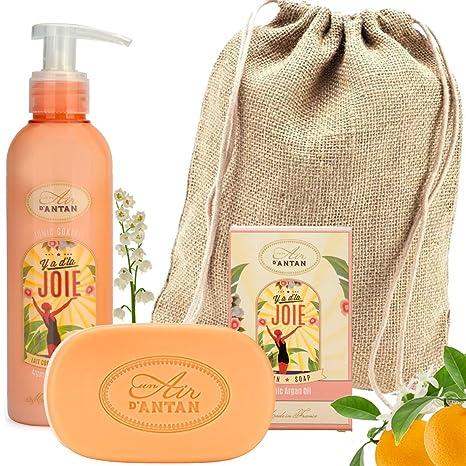 Caja Regalo Belleza Joie Mujer,1 Jabon 100g, 1 Crema Corporal Hidratante 200ml|