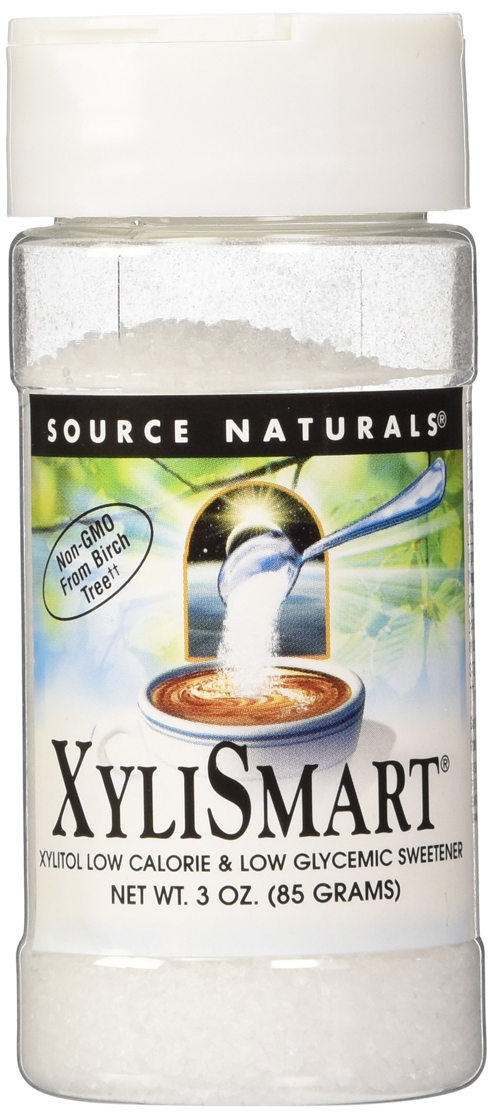 Source Naturals XyliSmart, Xylitol Low-Calorie & Low-Glycemic Sweetener, 3 Oz (Pack of 2) by Source Naturals
