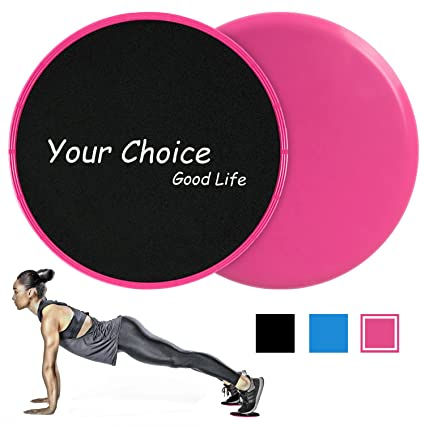 cca7c8cb858d Your Choice Sliders Fitness Equipment Floor Sliders Exercise Core Gliders  Gliding Discs for Full Body Workout