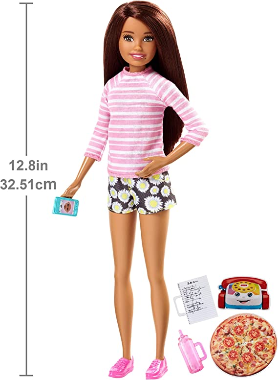 Amazon.es: Barbie-FHY92 Skipper, Muñeca Hermana de Barbie ...