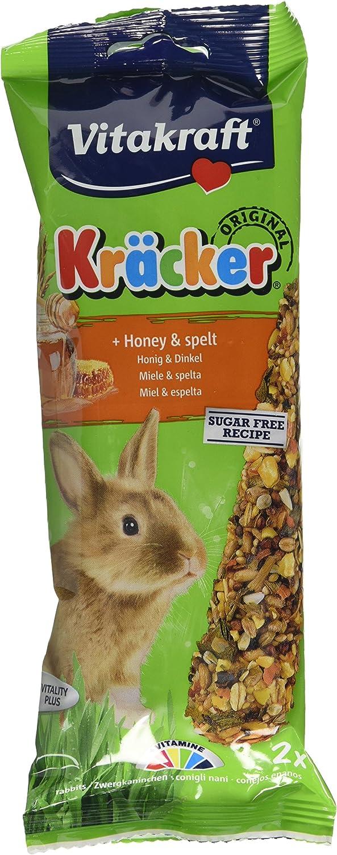 VITAKRAFT Kracker Conejo Pequeño Animal Alimento Pelota de Miel ...