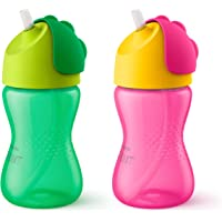Philips Avent Bendy Straw Cup for 12 Months and Above Babies, 300 ml Capacity