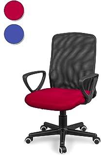 Due-home Silla de Oficina, Silla para Escritorio o Estudio, Medidas: 58x88