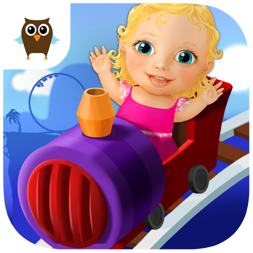 Sweet Baby Girl Theme Park – Ride a Roller Coaster, Fly with Hot Air Balloon, Guess Future, Create Music, Spin the Wheel of Fortune and Have Fun in Clown's Dress (Dress Up Themes)