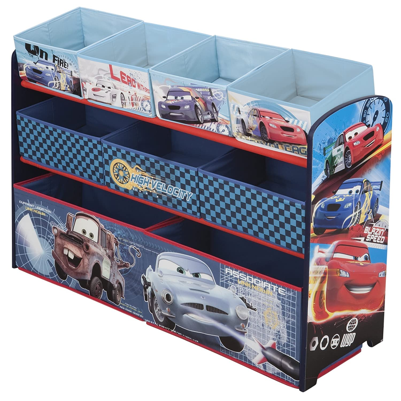 Car Toy Organizer : Delta children deluxe bin toy organizer cars savings guru