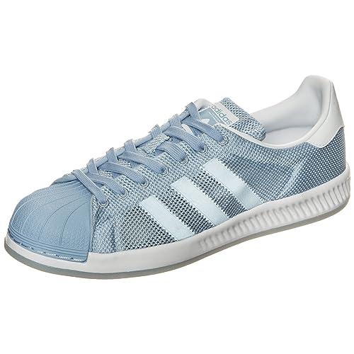 5618df0dd Adidas Superstar Bounce Color Azul Celeste Talla 37 1 3 EU  Amazon.es   Zapatos y complementos