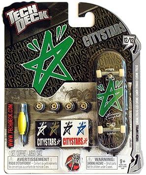 Tech Deck 96mm Fingerboard Citystars Miniature Skateboard