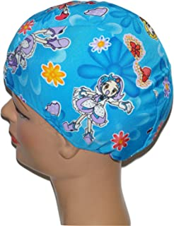 product image for Print Pattern Toddler Lycra Swim Cap