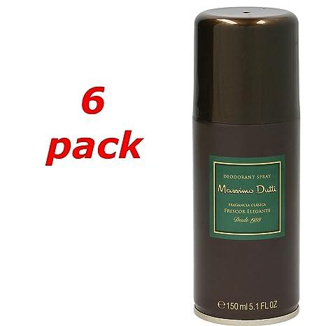 Massimo Dutti Deo Spray 150ml. Pack de 6