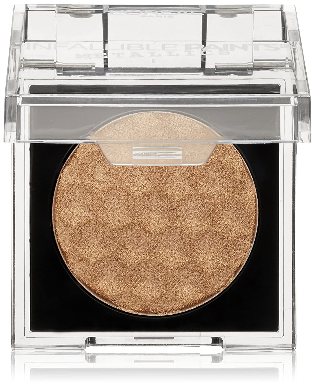 L'Oreal Paris Cosmetics Infallible Paints Metallics Eyeshadow, Brass Knuckles, 0.09 Ounce