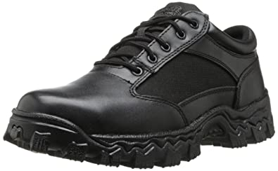 Rocky Men's Alpha Force Oxford Work Boot,Black,7 ...