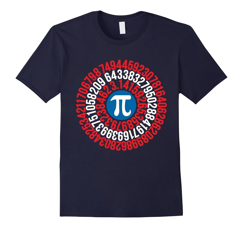 Captain Pi Tshirt - Funny Math Nerd Sayings-T-Shirt