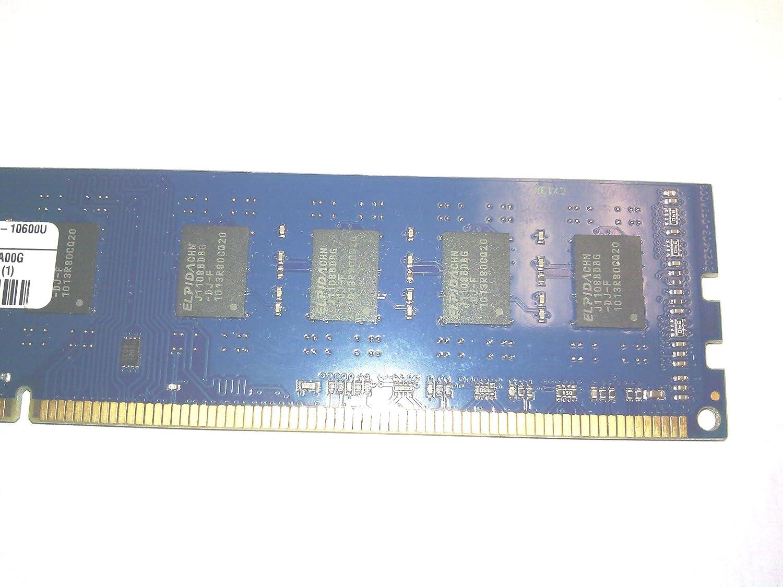 Kingston Ddr3 1 X 2gb Desktop Memory 2rx8 Pc3 10600u 4gb Pc12800 Elpida Chn J1108bdbg Hp497157 C01 Eldwg Computers Accessories
