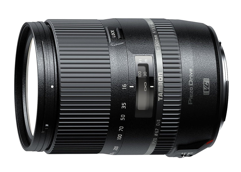 Tamron 16-300mm F/3.5-6.3 Di II VC PZD MACRO für Nikon DSLR mit DX Sensor