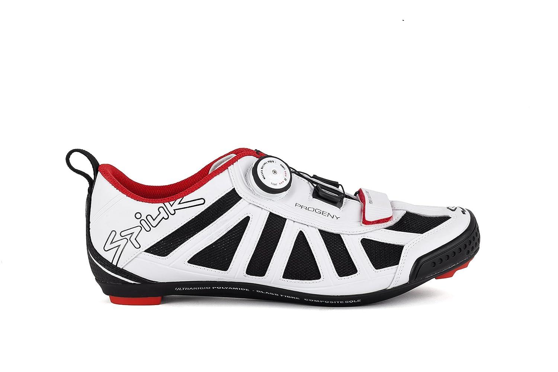 Spiuk Progeny Triathlon - Zapatillas Unisex, Color Blanco, Talla 49: Amazon.es: Zapatos y complementos