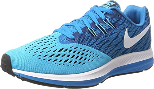 Nike Air Zoom Winflo 4, Scarpe Running Uomo, Blu (Blue Orbit